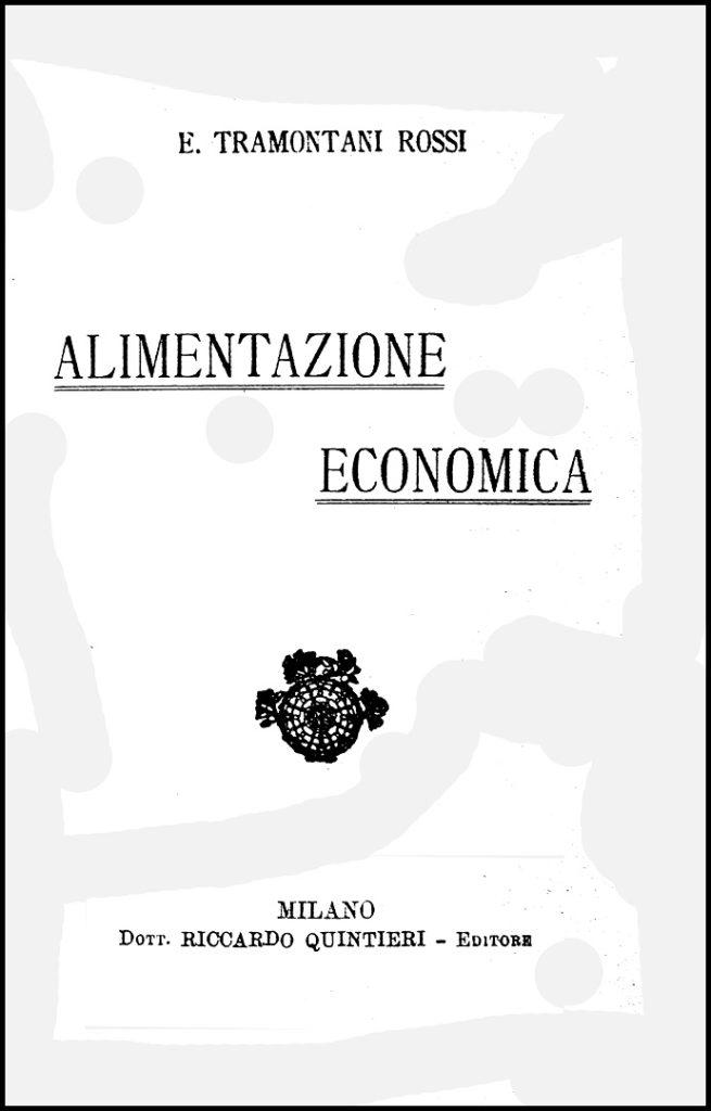 Alimentazione Economica, 1919
