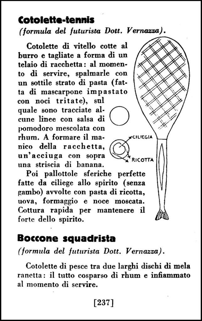 La Cucina Futurista, 1932