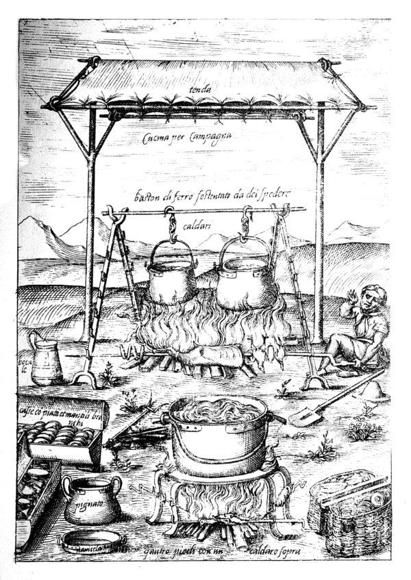 Scappi, Garzone che volta lo Spiedo, 1570