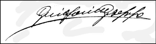 Grifoni, Firma Autografa
