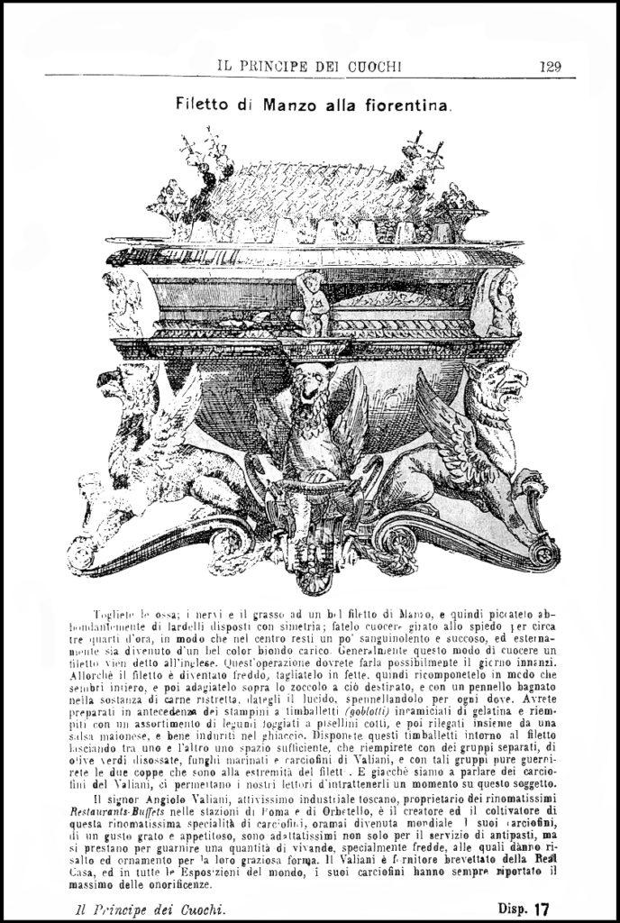 Bossi [Contraffazione], il filetto di Manzo alla Fiorentina