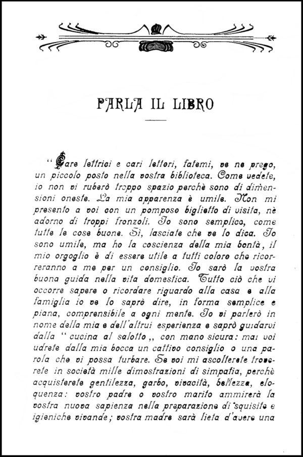 Lidia Morelli, 1906. Prefazione.