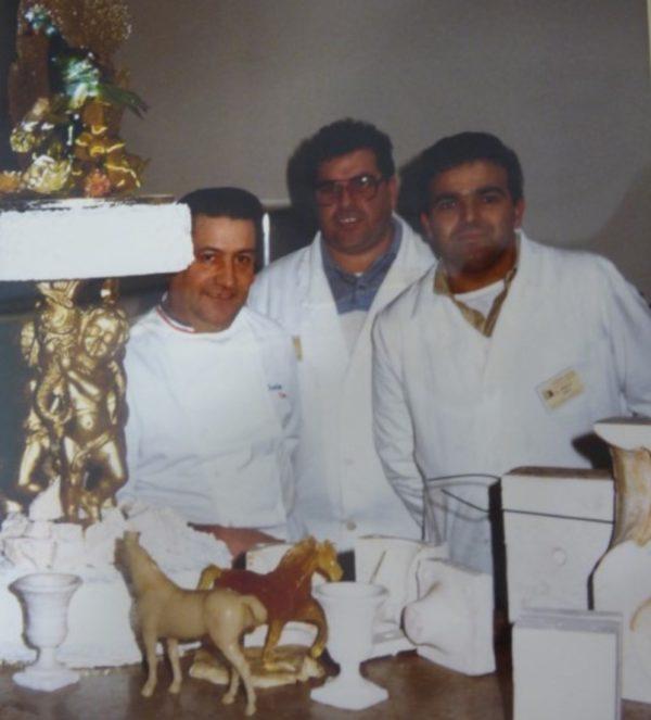 Rossano Boscolo con Charles Ceva e Dino Bisca a Yssengeaux