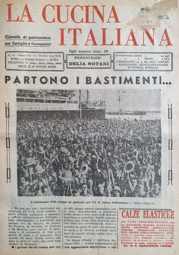 Cucina Italiana, n.10 (1935)