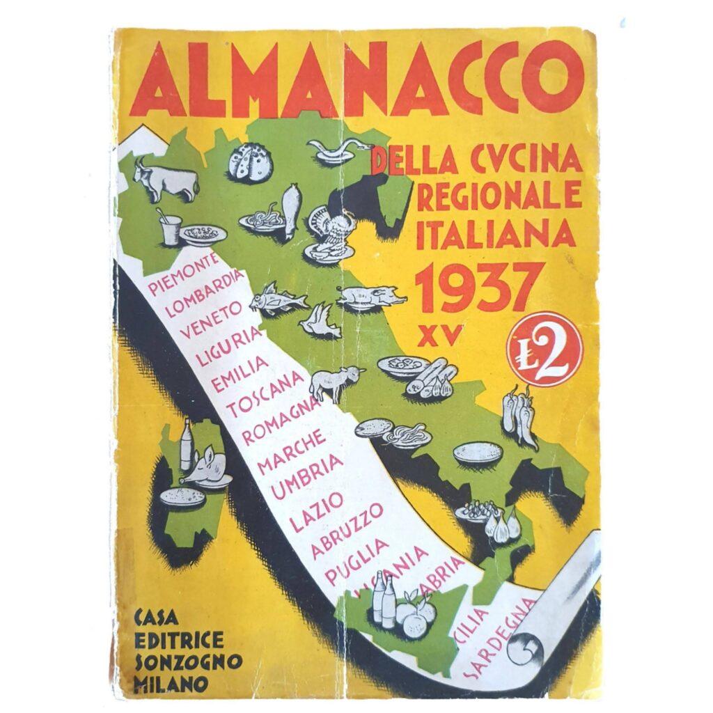 Almanacco della Cucina Regionale Italiana, 1937