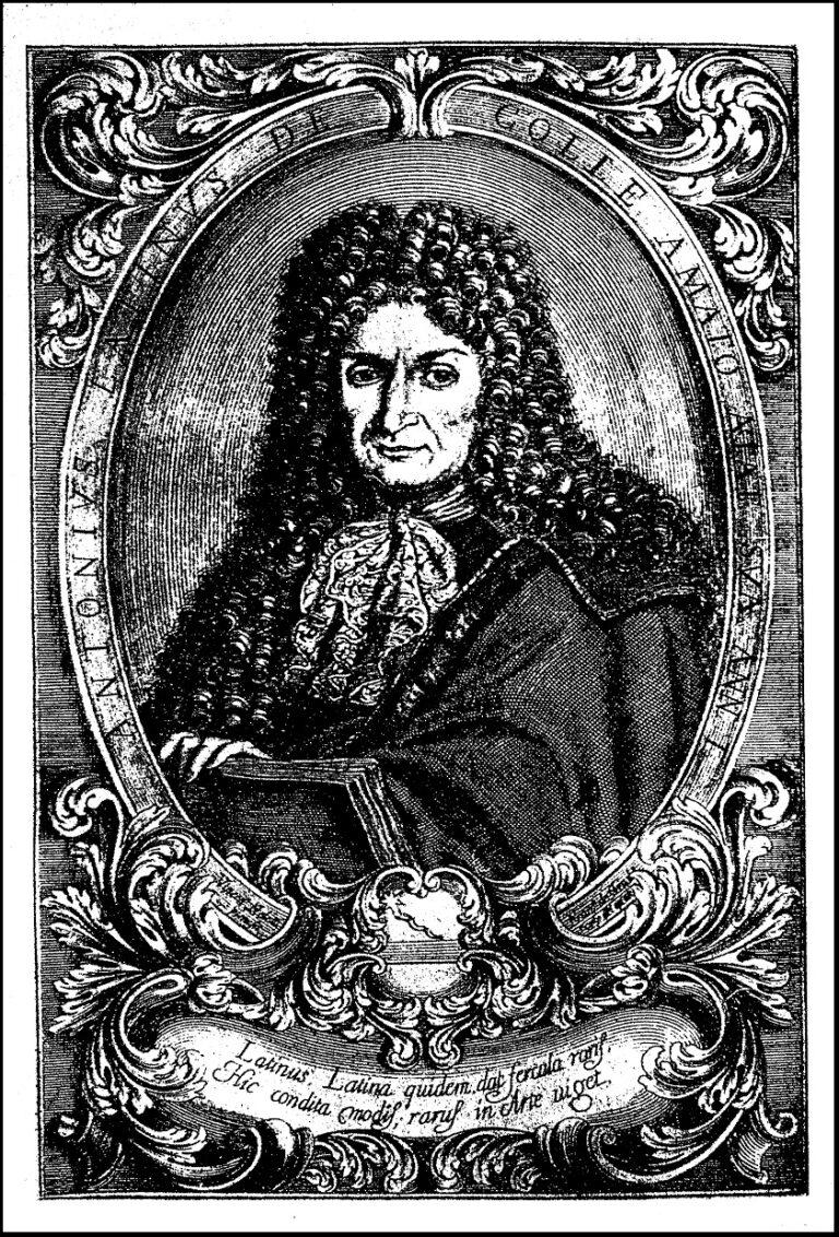Antonio Latini, ritratto
