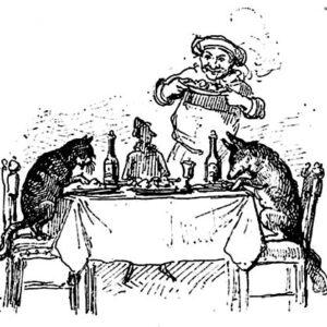 L'Osteria del Gambero Rosso (ed. Bemporad, 1892)